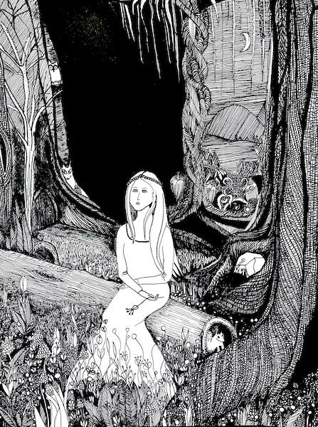 Lily en el bosque